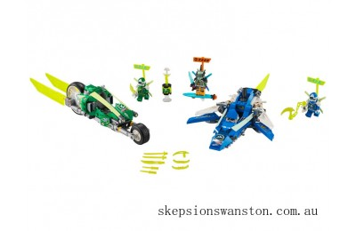 Outlet Sale Lego Jay and Lloyd's Velocity Racers