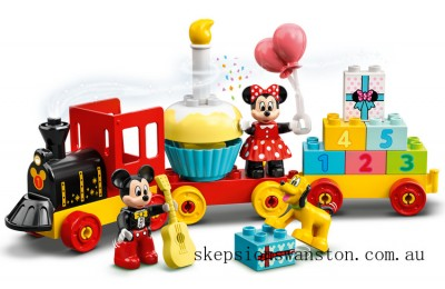 Genuine Lego Mickey & Minnie Birthday Train
