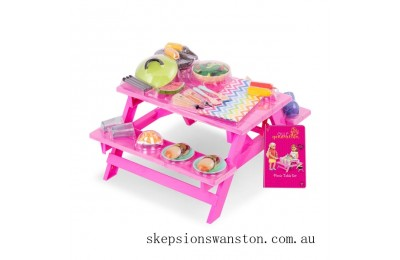 Hot Sale Our Generation Picnic Table Set