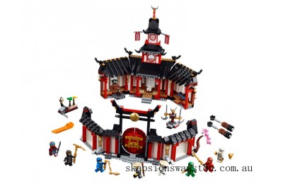 Outlet Sale Lego Monastery of Spinjitzu