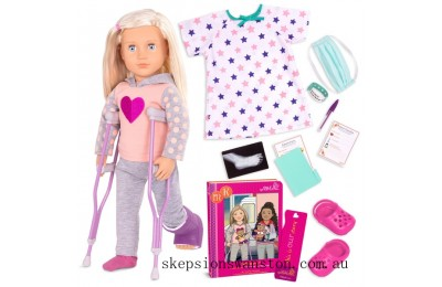 Genuine Our Generation Deluxe Doll Martha