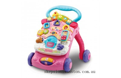Discounted VTech First Steps Baby Walker Pink