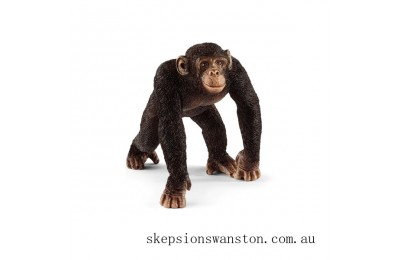 Discounted Schleich Male Chimpanzee
