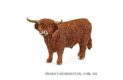 Genuine Schleich Highland Bull