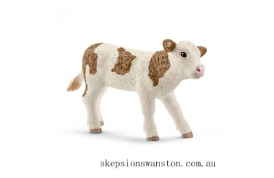 Outlet Sale Schleich Simmental Calf Figure