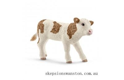 Outlet Sale Schleich Simmental Calf Figure