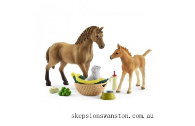 Outlet Sale Schleich Horse Club Sarah's Baby animal care