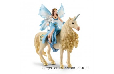 Discounted Schleich Eyela Riding On a Golden Unicorn