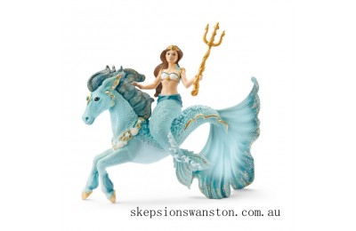 Hot Sale Schleich Mermaid Eyela on Underwater Horse