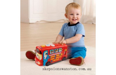 Genuine VTech Playtime Bus with Phonics