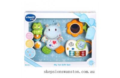 Genuine VTech My First Gift Set Blue