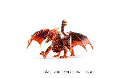 Genuine Schleich Eldrador Lava Dragon