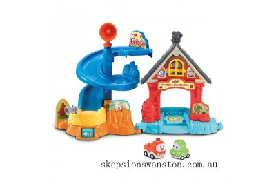 Discounted Vtech Toot-Toot Cory Carson Freddies Firehouse Playset