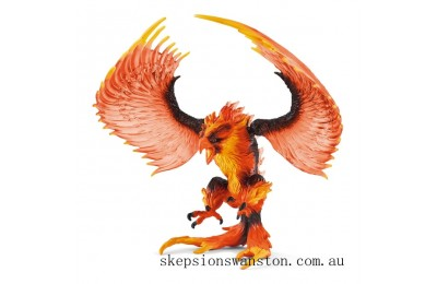 Genuine Schleich Eldrador Fire eagle