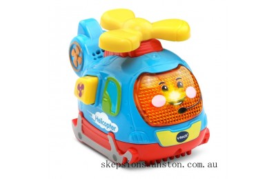 Genuine VTech Toot-Toot Push and Spin Helicopter