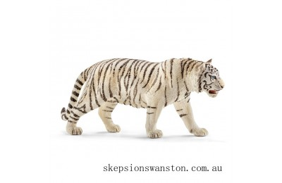 Discounted Schleich Tiger, white