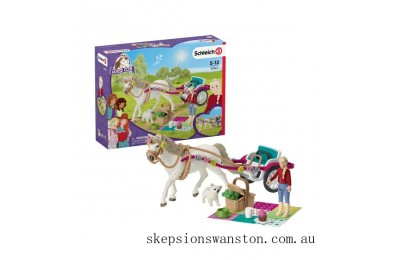 Hot Sale Schleich Connemara Pony & Trap