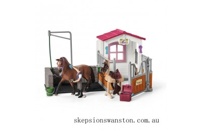 Genuine Schleich Wash Area with Horse Stall