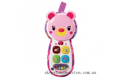 Clearance VTech Peek & Play Phone Pink