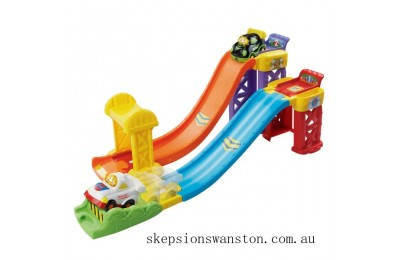 Clearance Vtech Toot-Toot Drivers Racing Ramp Way
