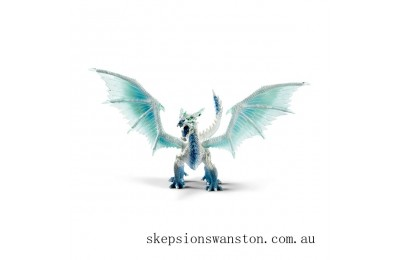Clearance Schleich Eldrador Ice Dragon