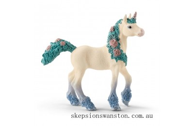 Discounted Schleich Flower Unicorn Foal