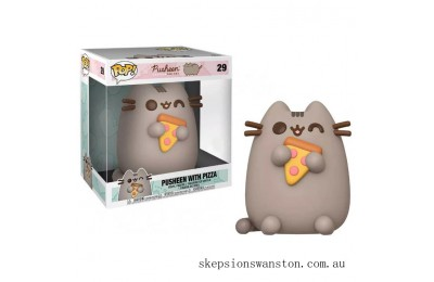 Pusheen with Pizza 10-Inch Funko Pop! Vinyl Clearance Sale