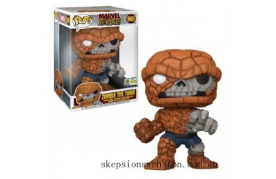 Marvel Zombies The Thing 10-Inch Convention EXC Pop! Vinyl Clearance Sale