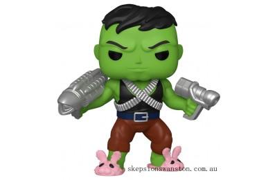 "PX Previews Marvel Professor Hulk 6"" EXC Funko Pop! Vinyl Clearance Sale"