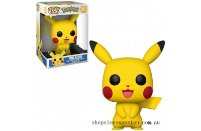 Pokemon Pikachu 10-Inch Funko Pop! Vinyl Clearance Sale