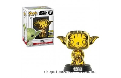 Star Wars - Yoda GD CH EXC Funko Pop! Vinyl SW19 Clearance Sale