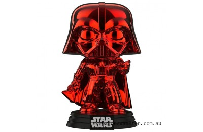 Star Wars - Darth Vader RD CH EXC Funko Pop! Vinyl Clearance Sale