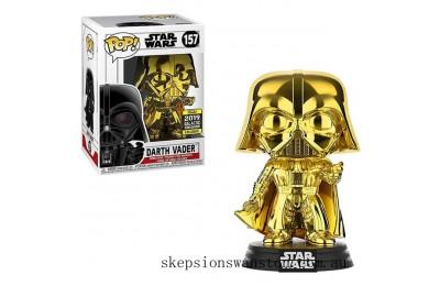Star Wars - Darth Vader GD CH EXC Funko Pop! Vinyl SW19 Clearance Sale