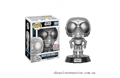Star Wars: Rogue 1 - Death Star Droid CH EXC Funko Pop! Vinyl NY17 Clearance Sale