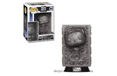 Star Wars Empire Strikes Back Han in Carbonite Funko Pop! Vinyl Clearance Sale