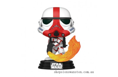 Star Wars The Mandalorian Incinerator Stormtrooper Funko Pop! Vinyl Clearance Sale