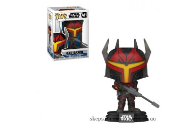 Star Wars Clone Wars Gar Saxon Funko Pop! Vinyl Clearance Sale