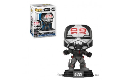 Star Wars Clone Wars Wrecker Funko Pop! Vinyl Clearance Sale