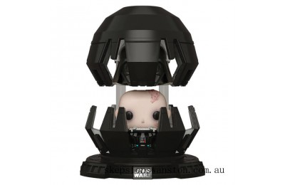 Star Wars Empire Strikes Back Darth Vader in Meditation Chamber Funko Pop! Deluxe Clearance Sale