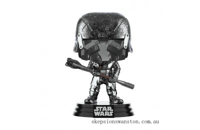 Star Wars: Rise of the Skywalker - Knights of Ren Club (Hematite Chrome) Funko Pop! Vinyl Clearance Sale