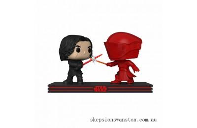 Star Wars The Last Jedi Kylo Ren & Praetorian Guard Funko Pop! Movie Moment Clearance Sale