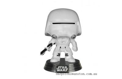 Star Wars The Last Jedi First Order Snowtrooper Funko Pop! Vinyl Clearance Sale
