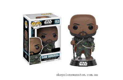 Star Wars: Rogue 1 - Saw Gererra EXC Funko Pop! Vinyl Clearance Sale