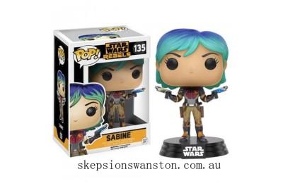 Star Wars Rebels Sabine Funko Pop! Vinyl Bobblehead Clearance Sale