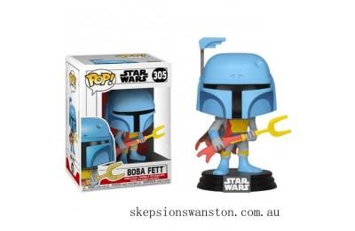 Star Wars - Boba Fett Animated EXC Funko Pop! Vinyl Clearance Sale