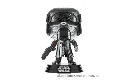Star Wars: Rise of the Skywalker - Knights of Ren Blaster (Hematite Chrome) Funko Pop! Vinyl Clearance Sale