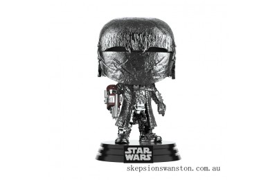 Star Wars: Rise of the Skywalker - Knights of Ren Cannon (Hematite Chrome) Funko Pop! Vinyl Clearance Sale