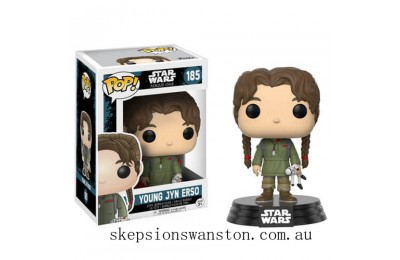 Star Wars Rogue One Wave 2 Young Jyn Erso Funko Pop! Vinyl Clearance Sale