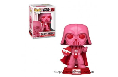 Star Wars Valentines Vader with Heart Funko Pop! Vinyl Clearance Sale