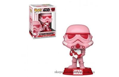 Star Wars Valentines Stormtrooper with Heart Funko Pop! Vinyl Clearance Sale